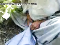 Horny Pakistani old Pathan men fucks his grandson in the fields