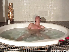 Naughty gay fondles his boyfriend and films him on cam