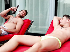 Dalton Riley Barebacks with his Sisters Str8 Boyfriend!