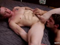 Straight Hunk BB Fucked by Bridger Watts